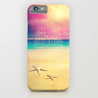 NEVER ENDING SUMMER - for iphone iPhone & iPod Case by Simone Morana Cyla