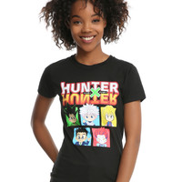 Hunter X Hunter Boxes Girls T-Shirt