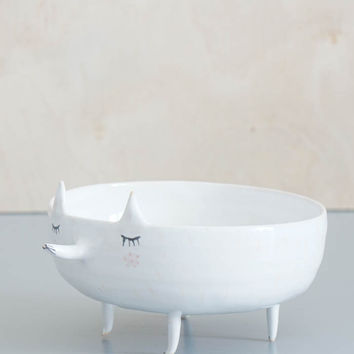 Fox Jewelry Dish