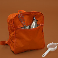 Tyakasha Pasture Orange Square Backpack