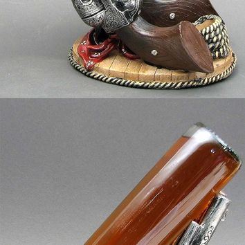 Wild West Pistol Wine Holder