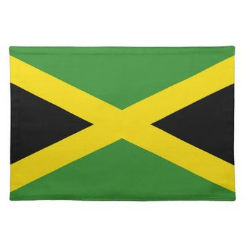 Jamaican Flag on MoJo Placemat