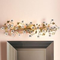 Floral Light Fixture-Horchow