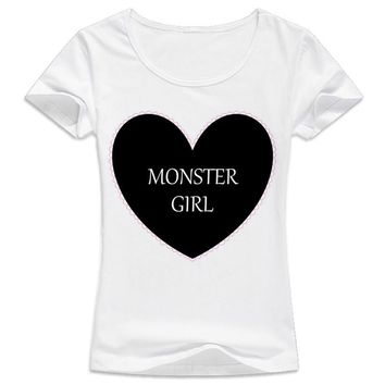 "Pastel Goth ""Monster Girl""  T-shirt Tops"