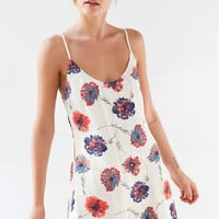 Kimchi Blue Cambridge Floral Dobby Slip Dress - Urban Outfitters