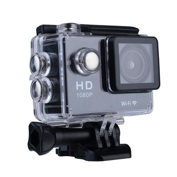 "WIFI SJ4000 Waterproof 4K 1080P 2.0"" Sports Action Camera DV Cam Camcorder Travel Kit"