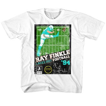 Ace Ventura Toddler T-Shirt Pet Detective Ray Finkle Football White Tee