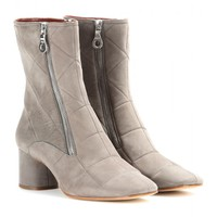marc jacobs - suede ankle boots