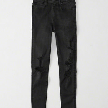 Womens High-Rise Ankle Jeans | Womens Bottoms | Abercrombie.com