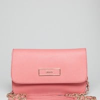DKNY Crossbody - Saffiano Small Flap | Bloomingdale's