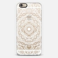 Paper Garden Cutout Doodle - white on transparent iPhone 6s case by Micklyn Le Feuvre | Casetify