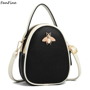 FanFine bags for women 2018 handbag Three Zipper Pocket bag Female Fashion tote messenger Shoulder Bags Women Shopping bag
