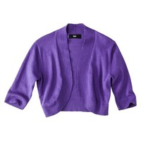 Mossimo® Women's Cropped Cardigan - Grape S