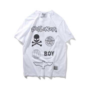 spbest Boy London  Skeleton X LXXVI X Eagle  T-Shirt