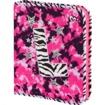 Zebra Dye Effect Initial Binder | Girls Backpacks & School Supplies Accessories | Shop Justice