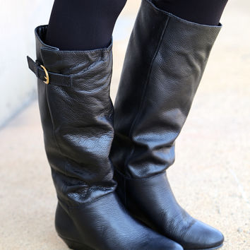 Steve Madden Intyce Boots {Black}