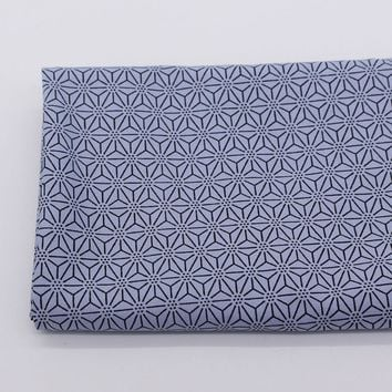 Japanese Nail Geometric Moire Quilting Fabric Cotton Cloth Sewing Material Tilda Fabrics Tissue Home Textile Woven Telas Tecido