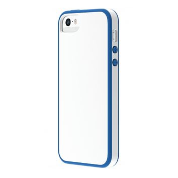 The White/Blue Skech Glow Case for iPhone 5/5s