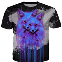 Psychedelic Fox - T-Shirt