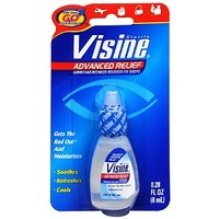 Visine Eye Drops, Advanced Redness Relief