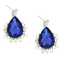 Sapphire Empress Earrings - Default Title
