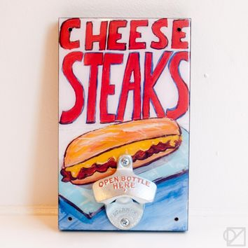 Philly Collection | Cheesesteaks Bottle Opener