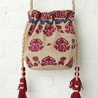 Free People Aries Embroidered Crossbody