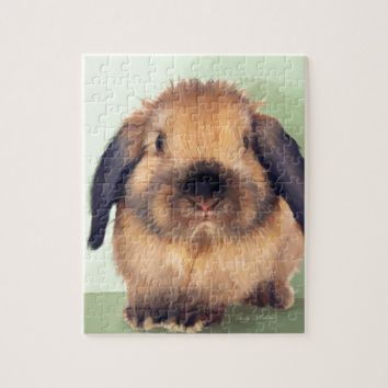 Holland Lop Jigsaw Puzzle