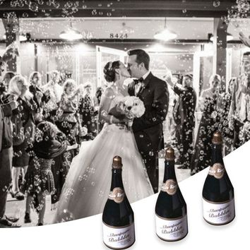 Champagne Bubble Wedding Party Bottle Decor Hollywood Happy Birthday Games  Festival Celebration