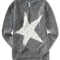 Star Intarsia Sweater