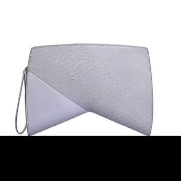 Narciso Rodriguez Boomerang Clutch - Lavender - One
