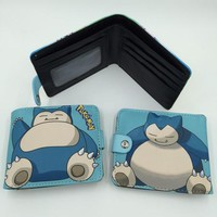 Snorlax Anime Wallet