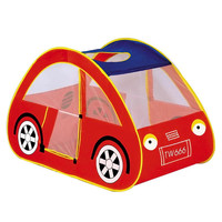 Red Car Shape Baby Playpens Portable Play Tent Kids Toy House Huge Tent for Children Indoor Play Yard Ocean Stress Ball Pool