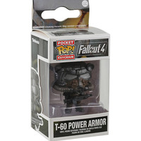 Funko Fallout 4 Pocket Pop! T-60 Power Armor Key Chain