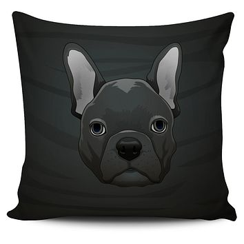 Real French Bulldog Pillow Cover