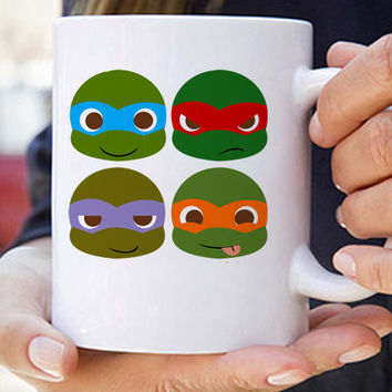 Ninja Turtles funny coffee mug unique coffee mug