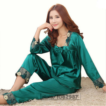 Chinese Silk Pajamas Sets