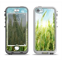 The Sunny Wheat Field Apple iPhone 5-5s LifeProof Nuud Case Skin Set