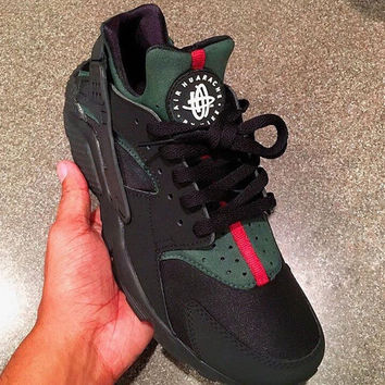 Custom Nike Air Huarache x Gucci