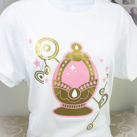 Madoka Magica Soul Gem Magical Girl Graphic T Shirt Kawaii Fairy Kei Pastel Goth