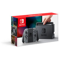 ORIGINAL Nintendo Switch Gaming Console with Gray Joy-Con Christmas gift for him