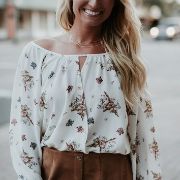 Kierston Top- Sweet Grace Floral