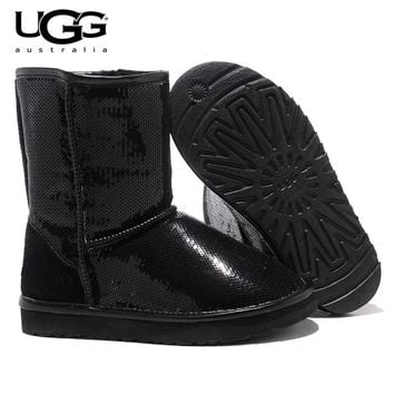 Shimmers Classic Short Sequin Boot Uggs Australia Boots
