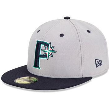 Pulaski Mariners Authentic Road Fitted Cap - MLB.com Shop
