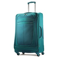 """American Tourister Delite 28"""" Spinner Suitcase - Teal"""