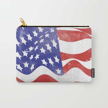 United States Flag - USA Carry-All Pouch by All Is One