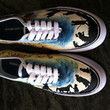Lord of the Rings Shoes Hand-Painted Custom Made