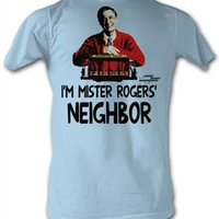 Mister Rogers Neighbor T-Shirt |TV show tees at OldSchoolTees.com