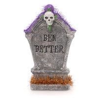 Halloween Grave Stone Halloween Decor