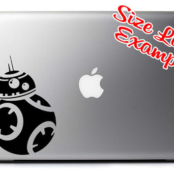 BB-8 Inspired Vinyl Decal for Hydro Flask Water Bottles Car Windows Laptops and More!